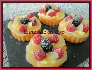 gâteaux façon tartelette fruits !
